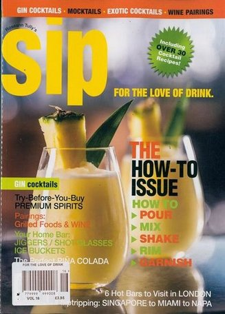 SIP - For the love of Drink Magazine