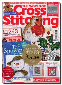The World of Cross Stitching Magazine