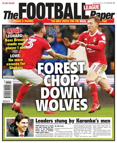 The Football League Paper Magazine