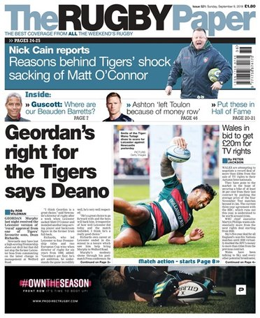 The Rugby Paper - English Magazine